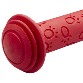 Herrmans Grip 82L - Puños infantiles de goma con tope - rojo